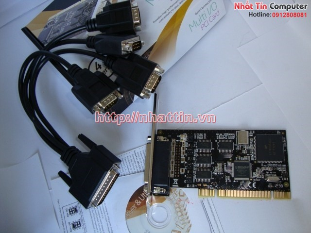 Card PCI to 4 cổng com RS232 SYBA