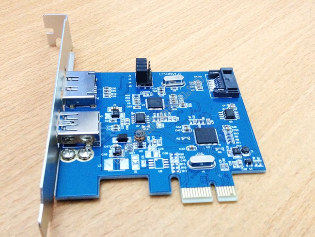 card pci-e to esata, pci-e to sata3, sataiii, sata iii, sata 6g, usb 3.0