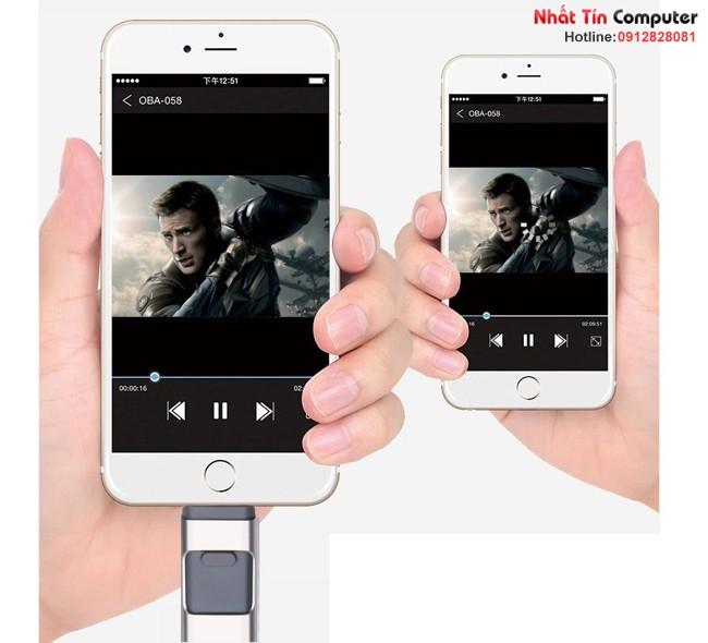 iUSB FlashDriver 16gb iDragon U001-16G cho điện thoại Iphone, Ipad, Ipod, Android