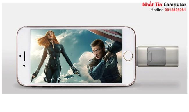 iUSB FlashDriver 64gb iDragon U001-64G cho điện thoại Iphone, Ipad, Ipod, Android