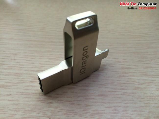 iUSB FlashDriver 16gb iDragon-U008 cho điện thoại Iphone, Ipad, Ipod chính hãng