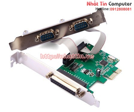 Card PCI EXPRESS to COM/LPT