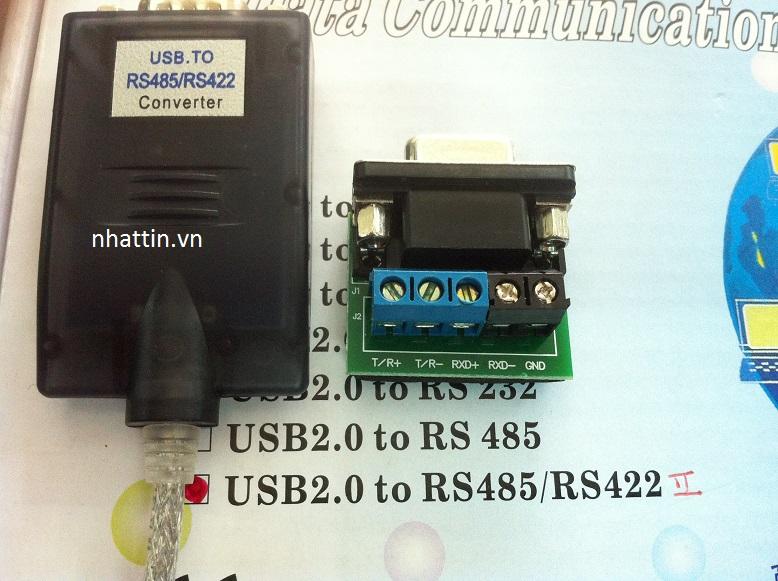 Cáp chuyển  HEXIN Serial Adapter USB 2.0 TO RS485/RS422 data converter II (FTDI) giá rẻ