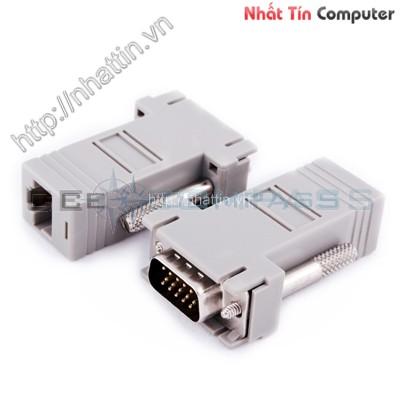 Nối tín hiệu VGA bằng cáp mạng Khoảng cách đến 60 Mét giá rẻ