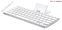 Bàn phím, Keyboard Dock for iPad