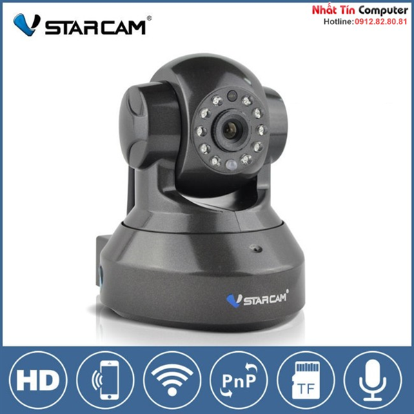 Camera IP VStarcam T7837WIP H.264 HD 720P PTZ P2P