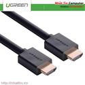 Cáp HDMI 1m cao cấp hỗ trợ Ethernet + 4k 2k HD104 Chính hãng Ugreen