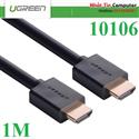 Cáp HDMI dài 1M cao cấp hỗ trợ Ethernet + 4k 2k HDMI chính hãng Ugreen UG-10106