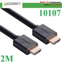 Cáp HDMI dài 2M cao cấp hỗ trợ Ethernet + 4k 2k HDMI chính hãng Ugreen UG-10107