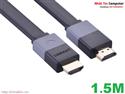 Cáp HDMI mỏng dẹt dài 1.5m hỗ trợ 3D 4K Chính hãng Ugreen UG-30109