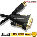 Cáp HDMI to DVI 10M