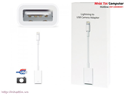 Cáp lightning , Cáp sạc USB cho Iphone 5,6 , Ipad 4, Ipad air