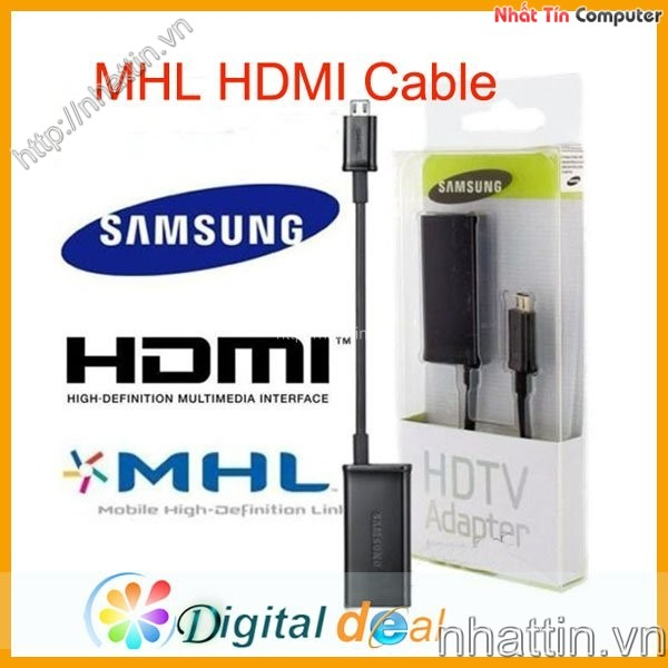 Cáp USB MHL to HDMI cho Samsung Sky HTC LG Note1