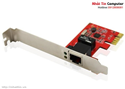 Card LAN Gigabit Ethernet UNITEK PCI-Express (Model Y-7509) chính hãng