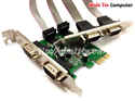 Card PCI Express to 4 Com port MosChip MCS9904CV-AA