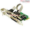 Card PCI EXPRESS to COM/LPT Chipset MOSCHIP MCS9901