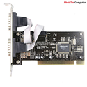 Card PCI to COM 2 Port