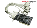 Card PCI to Com 8 port