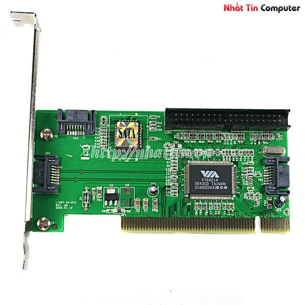 Card PCI to Sata + IDE