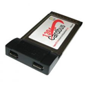 Card PCMCIA to 1394 x 2