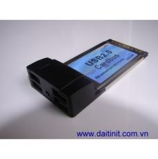 Card PCMCIA to 4 USB