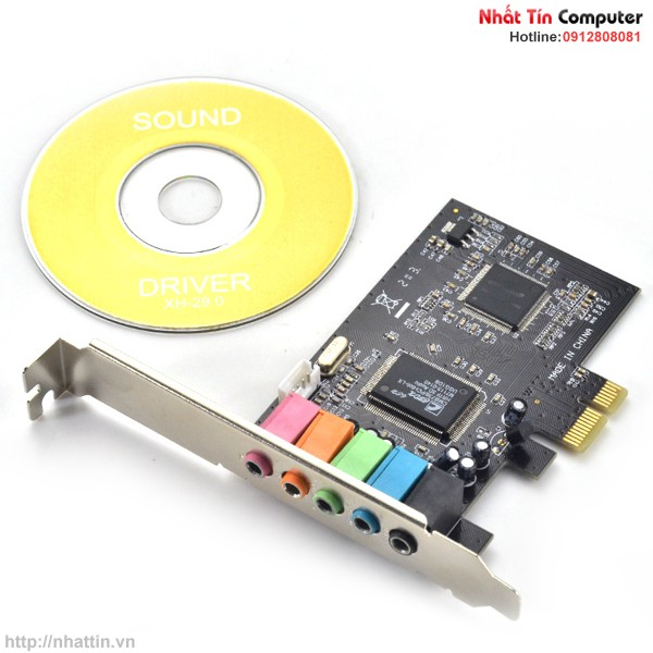 Card Sound PCI-Express 5.1CH 6-Channels 3D Digital Audio chipset CMI8738