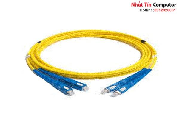 Dây nhảy quang Multi-mode chuẩn SC-SC - SM dài 1.5m (dây đôi)