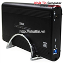 HDD Box 3.5 inch SSK USB 3.0 HE-G130 (Black)