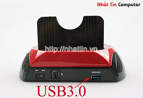 HDD Docking Station 2.5'/3.5'SATA/USB 3.0